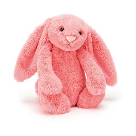 Bashful Coral Bunny 18cm