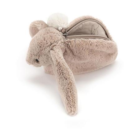 Bashful Bunny Beige Pouch