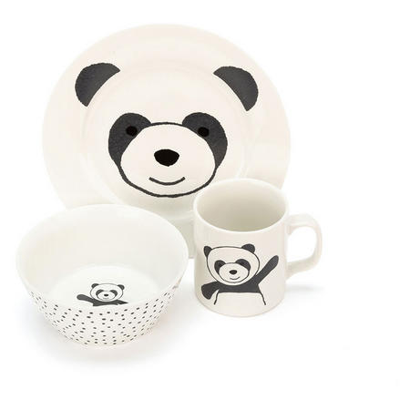 Harry Panda Bowl, Cup And Plate Set