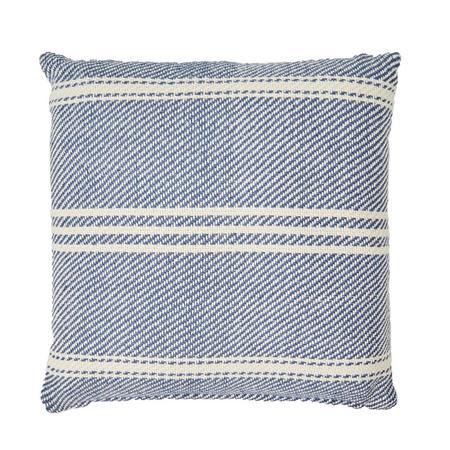 Oxford Stripe Cushion Navy 45 x 45cm