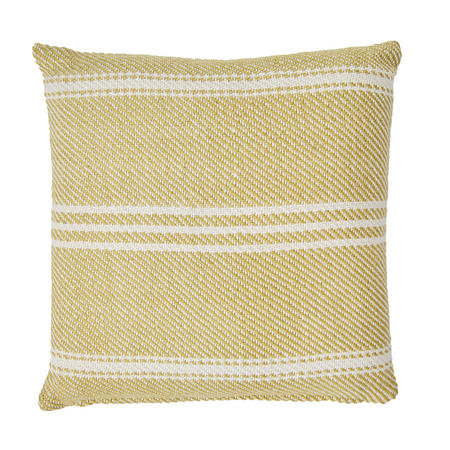 Oxford Stripe Cushion Gooseberry 45 x 45cm