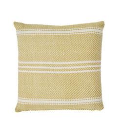 Oxford Stripe Cushion Gooseberry 45 x 45cm