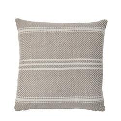 Oxford Stripe Cushion Chinchilla 45 x 45cm