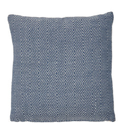 Diamond Cushion Navy 45 x 45cm
