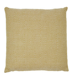 Diamond Cushion Gooseberry 45 x 45cm