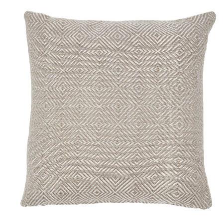 Diamond Cushion Chinchilla 45 x 45cm