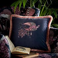 Audubon Cushion Navy 43 x 43cm