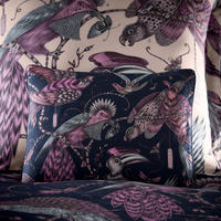 Audubon Boudoir Pillowcase Navy