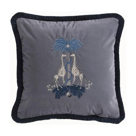 Kruger Cushion Charcoal