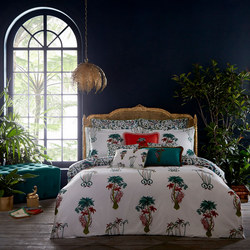 Jungle Palms Coordinated Bedding