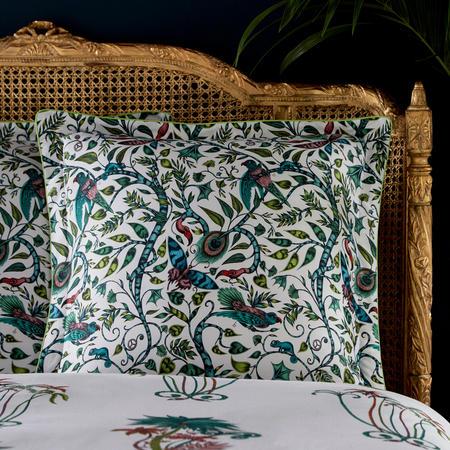 Jungle Palms Square Pillowcase Multi