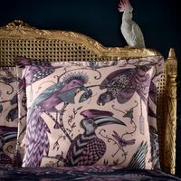 Audubon Square Pillowcase Pink