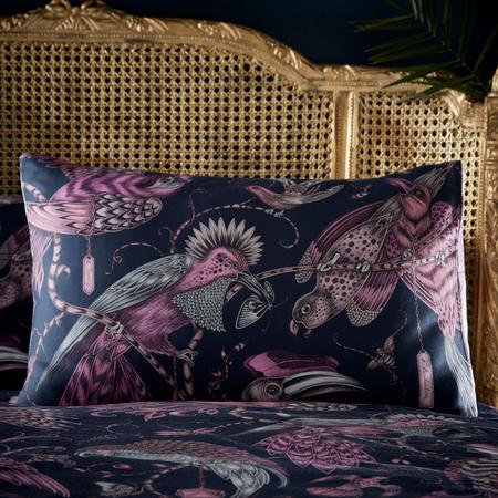 Audubon Standard Pillowcase Navy