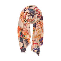 Luxe Kingdom African Animals Scarf