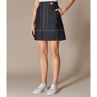 Denim A-Line Skirt