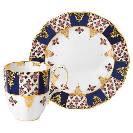 100 Years Mug and Plate Regency Blue
