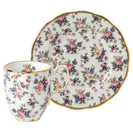 100 Years Mug & Plate English Chintz