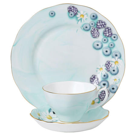 Alpha Foodie Turquoise Three Piece Set