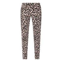Hoxton Leopard Print Skinny Jeans