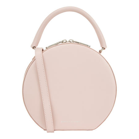 Nappa Circle Crossbody Bag