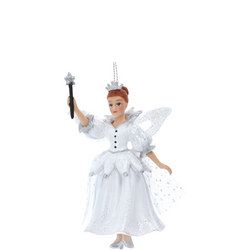 White Resin Fairy Godmother Decoration