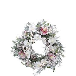 Snowy Hellebore Fir Wreath