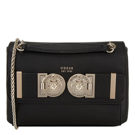 Carina Stud Flap Crossbody Bag
