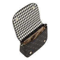 Houndstooth Crossbody Bag