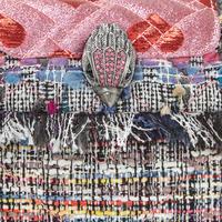 Kensington Tweed Small Crossbody Bag