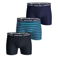 Three Pack Stripe Sammy Boxers