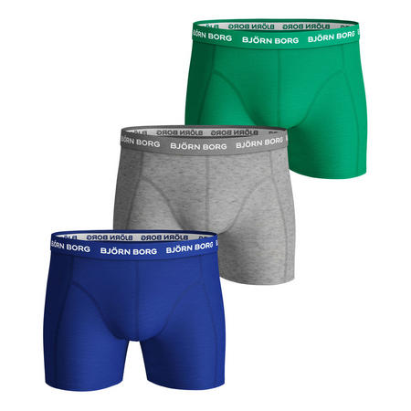 Three Pack Solid Sammy Boxers