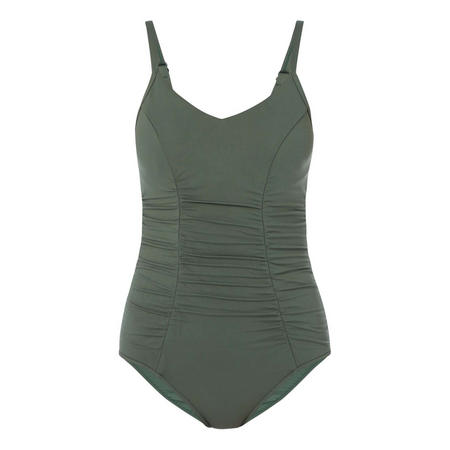 Ruched Panel Swimsuit