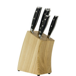 Ash Knife Block Five Piece