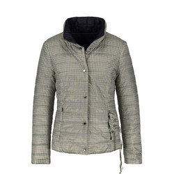 Check Quilted Jacket