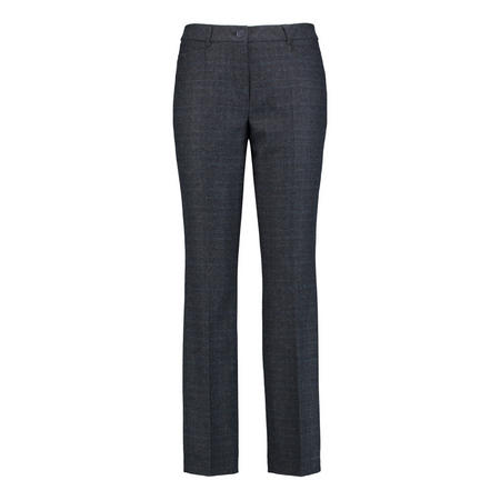 Pamela Check Wool Trousers