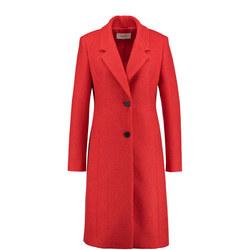 Longline Wool Overcoat