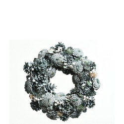Pine Cone Wreath With Berries