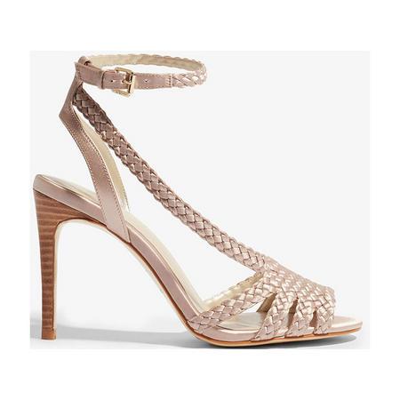Woven Heeled Sandals