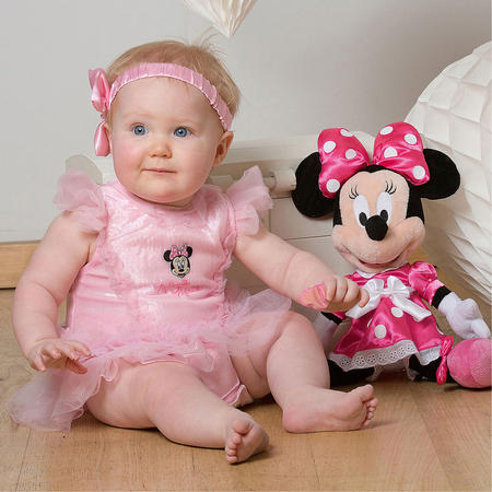 Minnie Mouse Baby Tutu Costume S-M
