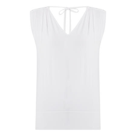 Sleeveless Jersey Blouse