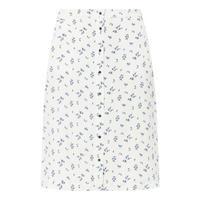 Harvest Print A-Line Skirt