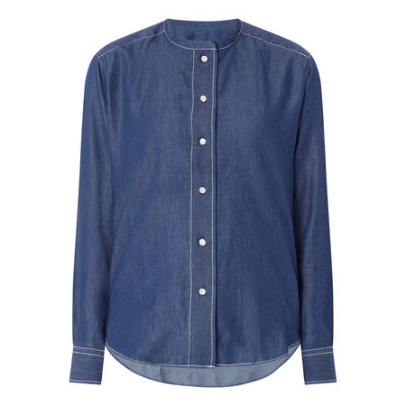 Bandcol Chambray Shirt