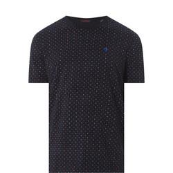 Crew Neck Spotty T-Shirt
