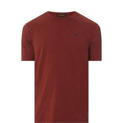 Crew Neck Dobby T-Shirt