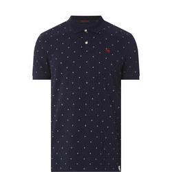 All-Over Printed Polo Shirt