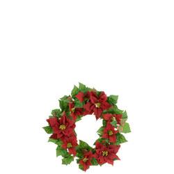 Poinsettia Wreath 55cm
