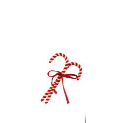 Candy Cane Ornamental Set