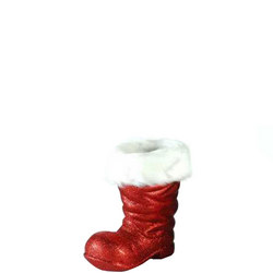 Red Glitter Boot