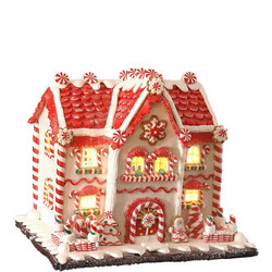 Candy House With Light