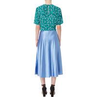 Alsop Satin Midi Skirt